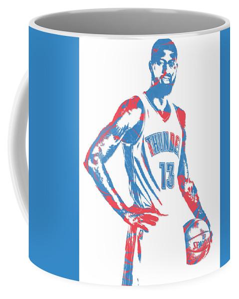 78b5a6d0d Paul George Oklahoma City Thunder Pixel Art 1 Coffee Mug for Sale by Joe  Hamilton