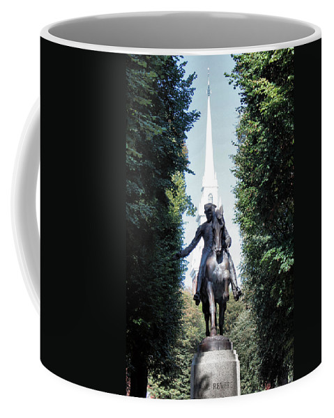 Paul Revere Coffee Mug featuring the photograph Paul Revere by Kristin Elmquist