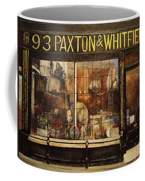 Paxton Coffee Mug featuring the painting Paxton Whitfield .london by Tomas Castano