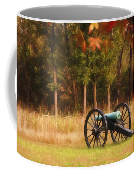 American Coffee Mug featuring the photograph Pea Ridge by Lana Trussell