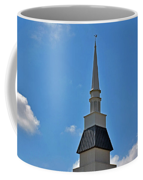 Peace Coffee Mug featuring the photograph Peace - God - Mankind - Nature by Ray Shrewsberry
