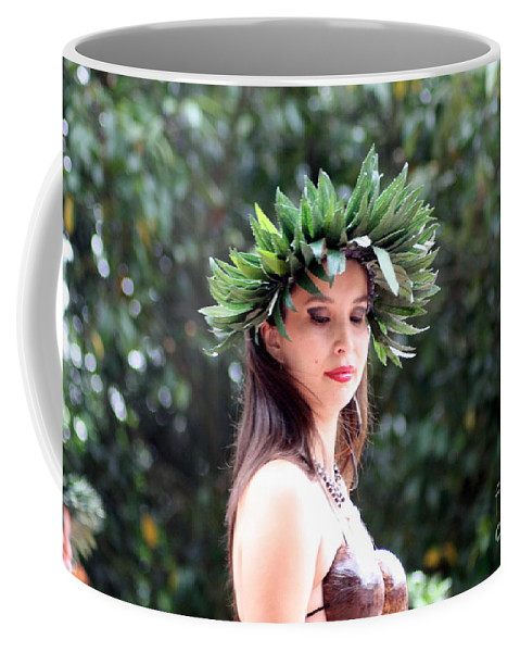 Headress Coffee Mug featuring the photograph Peace by Jo Hoden