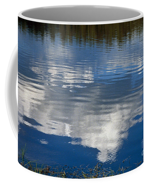 Landscape Coffee Mug featuring the photograph Peace by Kathy McClure