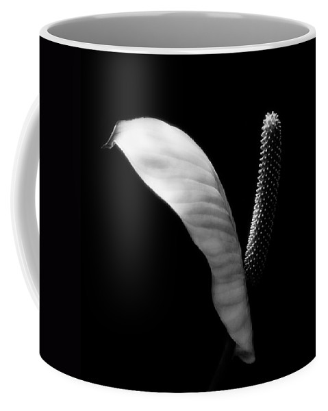 Coffee Mug featuring the photograph Peace Lilly by Marilyn Hunt