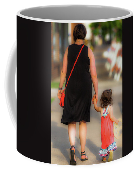 Woman Coffee Mug featuring the photograph Peace Now Color by David Cohron