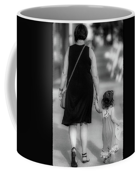 Woman Coffee Mug featuring the photograph Peace Now by David Cohron