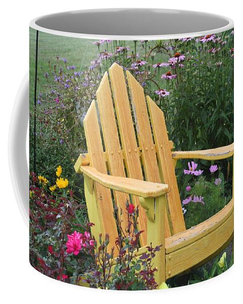 Garden Coffee Mug featuring the photograph Peaceful Garden by Melanie Rainey