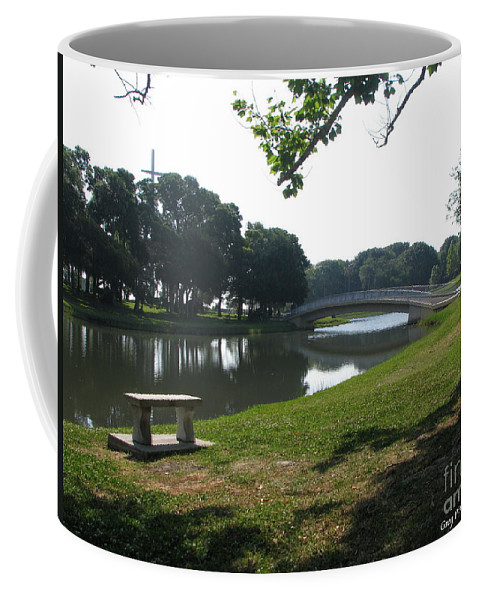 Art For The Wall...patzer Photography Coffee Mug featuring the photograph Peaceful by Greg Patzer