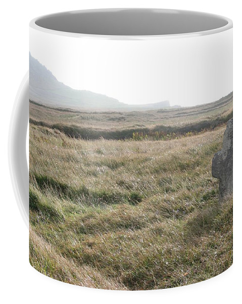 Midievil Coffee Mug featuring the photograph Peaceful Rest by Kelly Mezzapelle