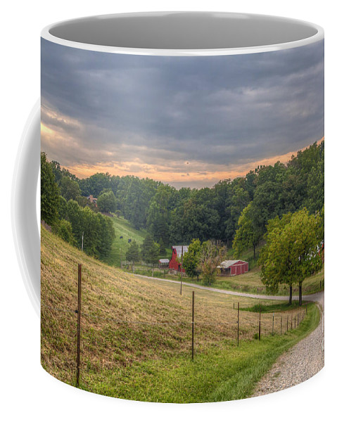 2015 Coffee Mug featuring the photograph Peaceful Valley by Larry Braun