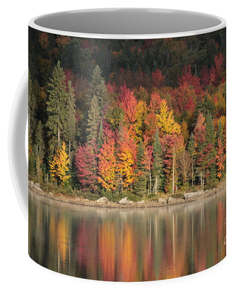 Vermont Coffee Mug featuring the photograph Peak Begins by Linda Baird-White