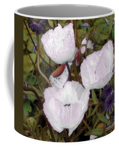 Blooms Coffee Mug featuring the digital art Pearlblossoms by RC deWinter