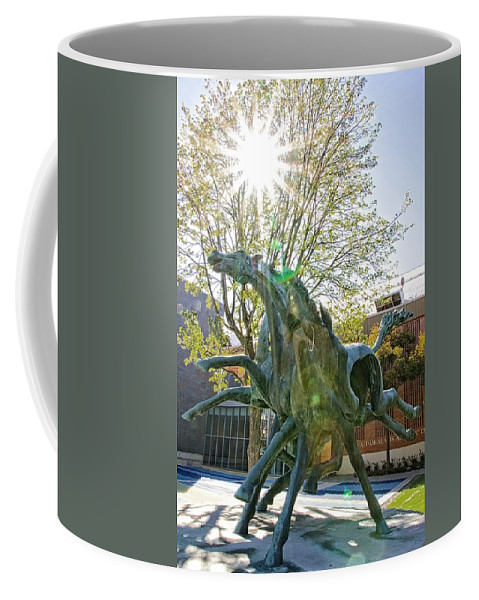 Alicegipsonphotographs Coffee Mug featuring the photograph Pearls On An Ear by Alice Gipson