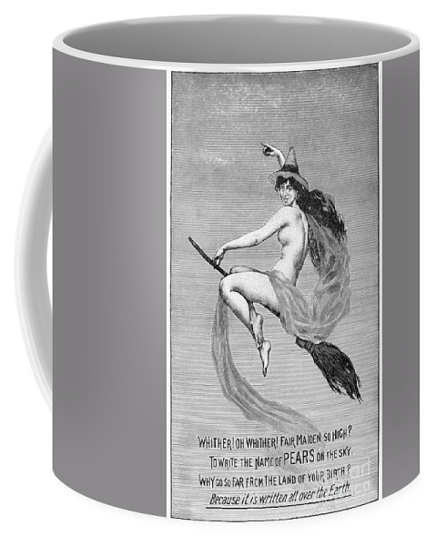 1889 Coffee Mug featuring the photograph Pears Soap Advertisement by Granger