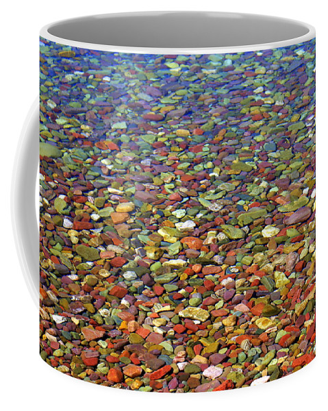 Water Coffee Mug featuring the photograph Pebbles by Marty Koch