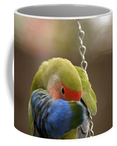 Clay Coffee Mug featuring the photograph Peek A Boo by Clayton Bruster