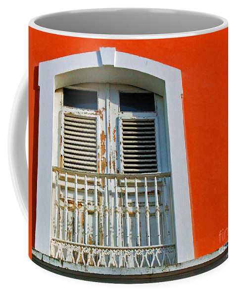 Shutters Coffee Mug featuring the photograph Peel An Orange by Debbi Granruth