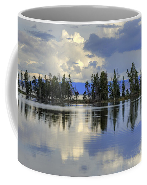 Hdr Coffee Mug featuring the photograph Pelican Bay Morning by Sandra Bronstein