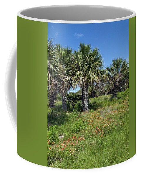 Florida Coffee Mug featuring the photograph Pelican Island In Florida by Allan Hughes