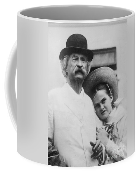 Pen Pals, Mark Twain And Dorothy Quick Coffee Mug