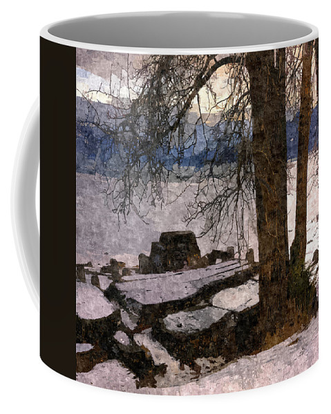 Scenic Coffee Mug featuring the photograph Pend D'oreille Lake 3 by Lee Santa