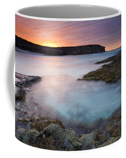 Dawn Coffee Mug featuring the photograph Pennington Dawn by Mike Dawson