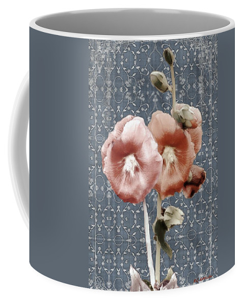 Cloth Coffee Mug featuring the painting Penny Postcard Bombay by RC DeWinter