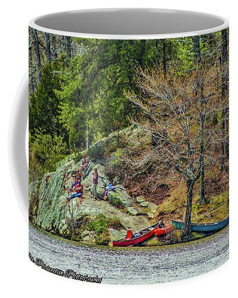 Water Coffee Mug featuring the photograph Pennyrile Park Canoes by Chad Fuller