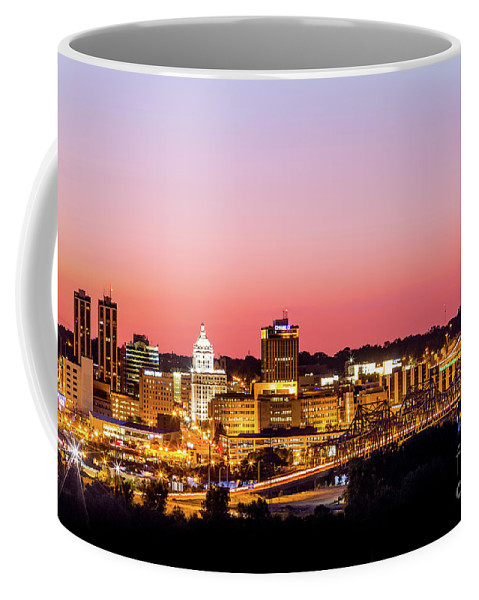 2016 Coffee Mug featuring the photograph Peoria Downtown by Photography Wrap