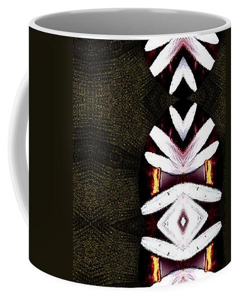 Oriental Coffee Mug featuring the mixed media Pepitas Oriental Art by Pepita Selles