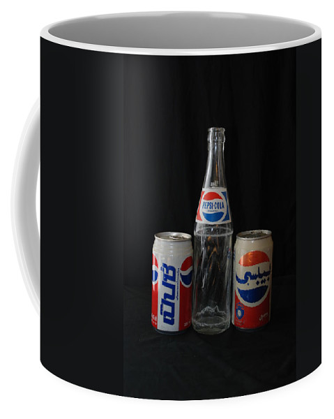 Cola Coffee Mug featuring the photograph Pepsi Cola by Rob Hans