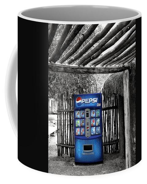 Living Desert Coffee Mug featuring the photograph Pepsi Generation Palm Springs by William Dey