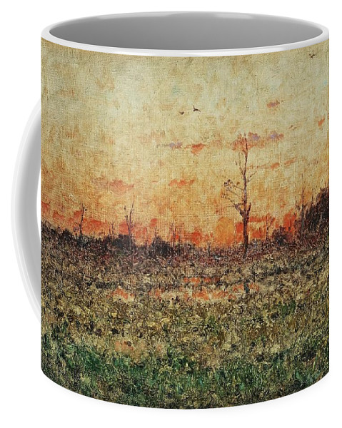 Nature Coffee Mug featuring the painting Per Ekstrom, French Landscape. by Per Ekstrom