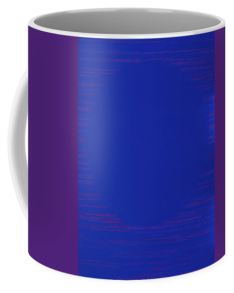 Spiritual Coffee Mug featuring the painting Perfect Existence by Kyung Hee Hogg