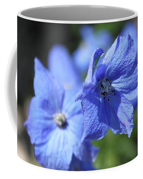 Flower Coffee Mug featuring the photograph Periwinkle Flower by Lauri Novak