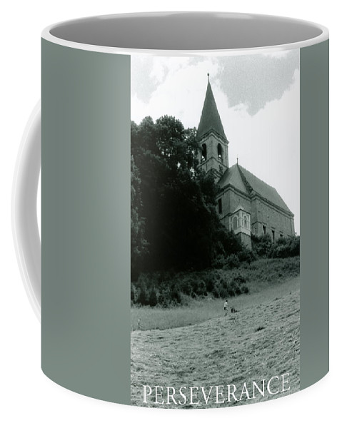 Church Coffee Mug featuring the photograph Perseverance by Michelle Calkins