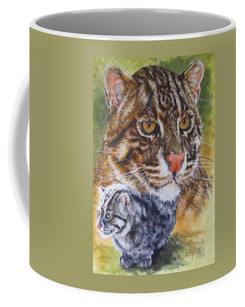 Asia Coffee Mug featuring the mixed media Persistant by Barbara Keith