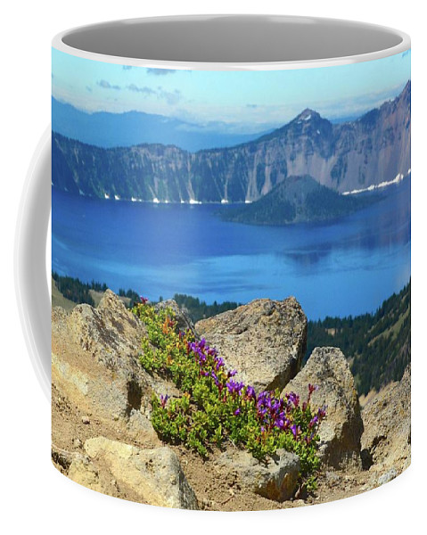 Oregon Coffee Mug featuring the photograph Persistence by Cher Rydberg