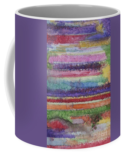 Colorful Coffee Mug featuring the painting Perspective by Jacqueline Athmann