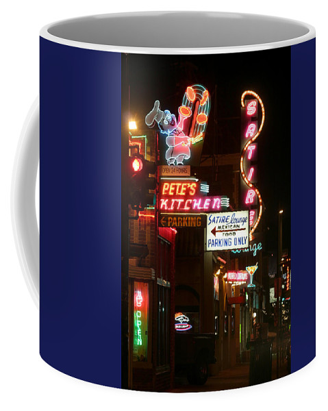 Pete's Coffee Mug featuring the photograph Pete's Kitchen by Jeffery Ball