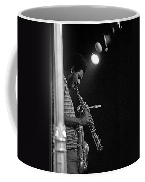 Pharoah Sanders Coffee Mug featuring the photograph Pharoah Sanders 1 by Lee Santa