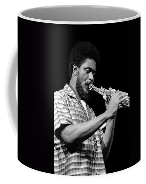 Pharoah Sanders Coffee Mug featuring the photograph Pharoah Sanders 3 by Lee Santa