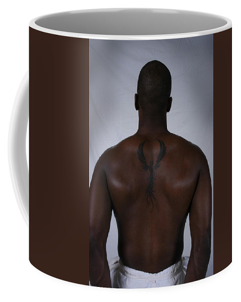 Phoenix Coffee Mug featuring the photograph Phoenix - Dion by D'Arcy Evans