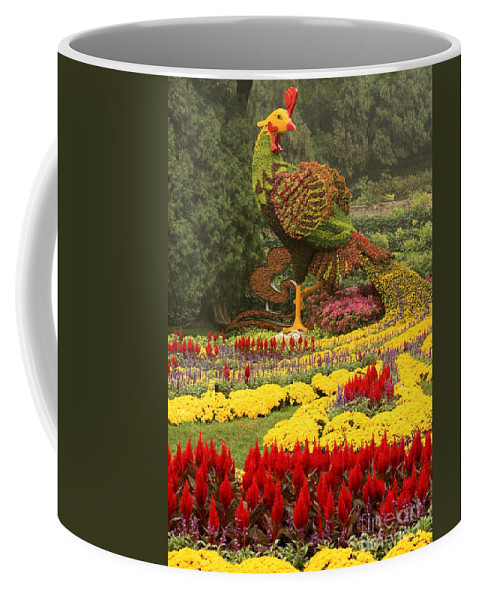Summer Palace Coffee Mug featuring the photograph Phoenix In Summer Palace by Carol Groenen