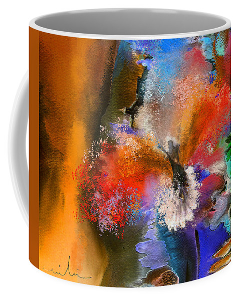 Dream Coffee Mug featuring the painting Phoenix by Miki De Goodaboom