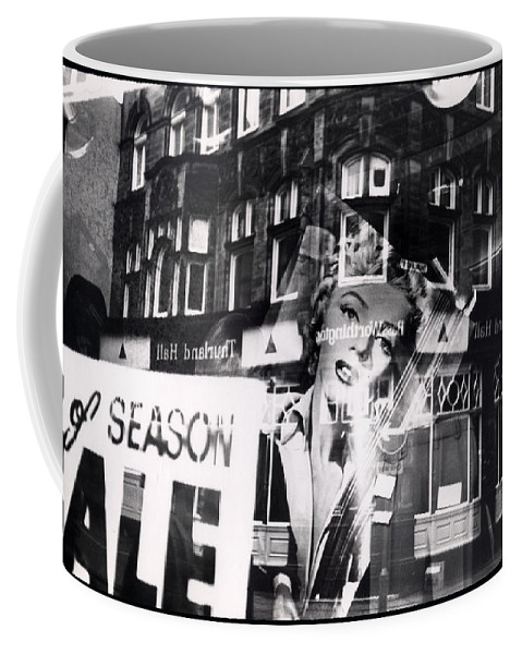 Marilyn Coffee Mug featuring the photograph Photograph Of Marilyn by Charles Stuart