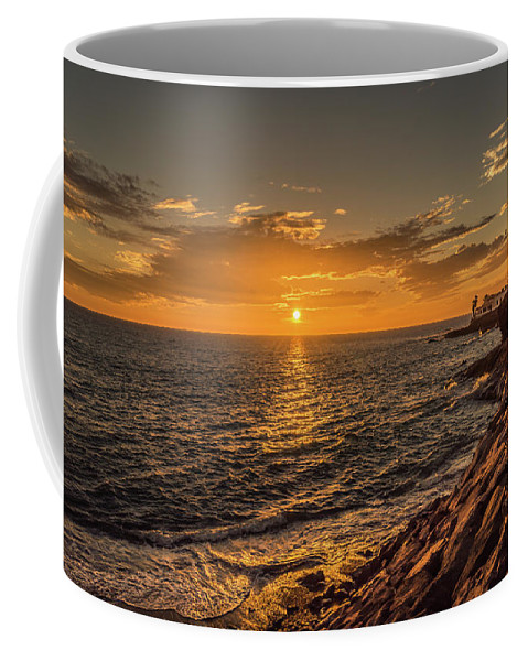 La Caleta Coffee Mug featuring the photograph Photo's Of Tenerife - La Caleta Sunset by Naylors Photography