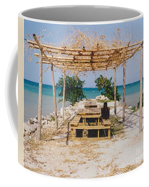 Water Coffee Mug featuring the photograph Pick-nick At The Sea by Michelle Powell
