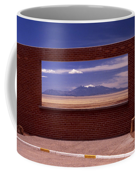 Window Coffee Mug featuring the photograph Picture Window by Karen Ulvestad