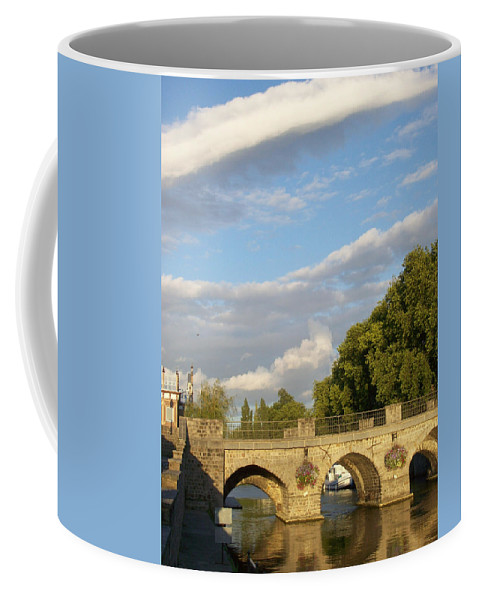 Picturesque Coffee Mug featuring the photograph Picturesque by Mary Mikawoz